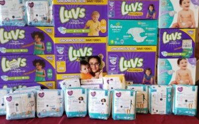 We're collecting diapers for YoungMoms