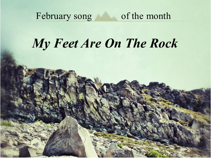 February's song of the month