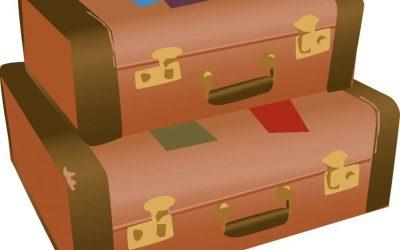 One-way suitcases needed